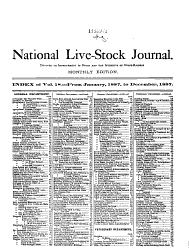 The National Live Stock Journal Book PDF