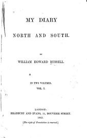 My Diary North and South: Volume 1