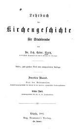 Lehrbuch der Kirchengeschichte für Studierende: Band 2