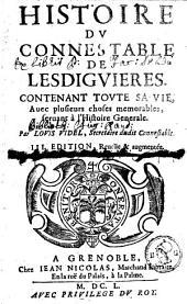 Histoire du connestable de Lesdiguières: contenant toute sa vie