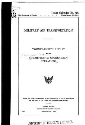 Military Air Transportation PDF