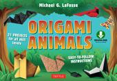 Origami Animals: Make Colorful and Easy Origami Animals: Includes Origami Book with 45 Original Projects: Great for Kids and Adults!