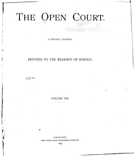 The Open Court PDF