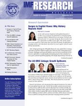IMF Research Bulletin, September 2012