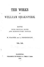 The works of William Shakspere: Pericles. Venus and Adonis. The rape of Lucrece. Sonnets and poems