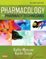 Pharmacology for Pharmacy Technicians   E Book PDF