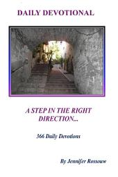 A Step in the Right Direction - Daily Devotional