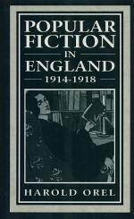 Popular Fiction in England, 1914-1918