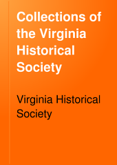 Collections of the Virginia Historical Society