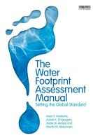 The Water Footprint Assessment Manual PDF