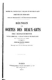 Réunion des sociétés des beaux-arts des départements ...: Volume24