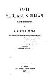 Canti popolari siciliani: Volume 2