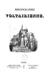 Bibliographie Voltairienne...