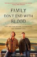 Family Don t End with Blood PDF