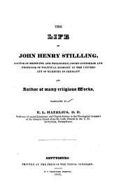 The Life of John Henry Stilling