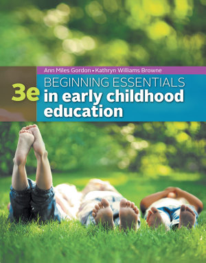 Beginning Essentials in Early Childhood Education PDF