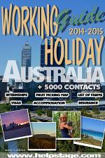 Working Holiday guide to Australia 2014-2015