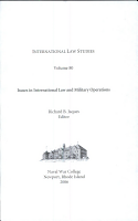 Issues in International Law and Military Operations PDF