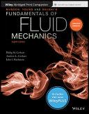 Munson  Young And Okiishi S Fundamentals Of Fluid Mechanics  8th Edition WileyPLUS NextGen Card With Abridged Loose Leaf Print Companion Set