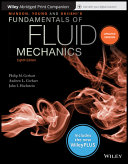 Munson  Young and Okiishi s Fundamentals of Fluid Mechanics  8th Edition WileyPLUS NextGen Card with Abridged Loose Leaf Print Companion Set Book