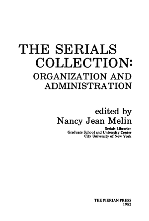 The Serials Collection PDF