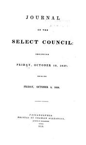 Journal of the Common Council of the City of Philadelphia for the Year     Book