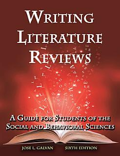 Writing Literature Reviews Book