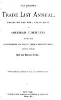 The Uniform Trade List Annual PDF