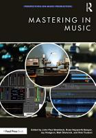 Mastering in Music PDF