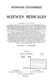 Dictionnaire encyclopédique des sciences médicales: Volume82