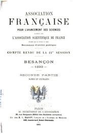 Compte rendu: Volume22,Partie2