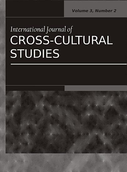International Journal of Cross Cultural Studies PDF