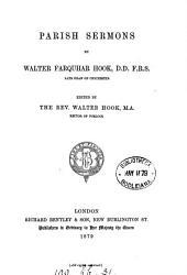 Parish sermons, ed. by W. Hook
