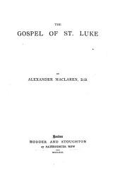 The Gospel of St. Luke