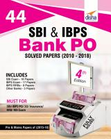 44 SBI   IBPS Bank PO Solved Papers  2010 2018  4th Edition PDF