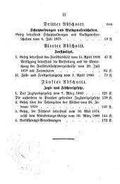 Die preussischen forst-, jagd- und fischereigesetze: Nach den entscheidungen des reichsgerichts, resp. des früheren obertribunals und des oberverwaltungsgerichts, sowie den ergangenen ministerial-verfügungen LC. ...