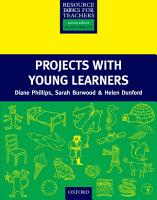 Projects with Young Learners   Primary Resource Books for Teachers PDF