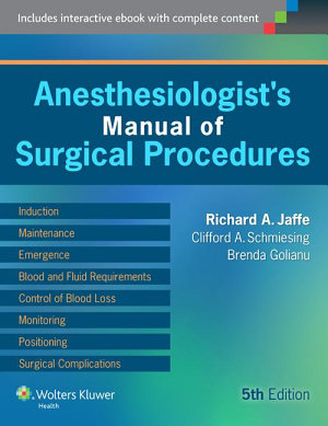 Anesthesiologist s Manual of Surgical Procedures PDF