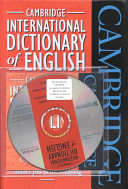Cambridge International Dictionary of English Flexicover and CD-ROM Pack
