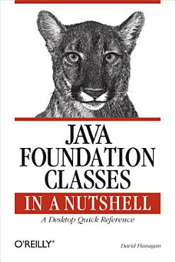 Java Foundation Classes in a Nutshell PDF
