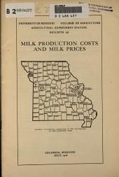 Milk production cost
