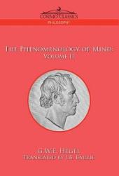 The Phenomenology of Mind: Volume 2