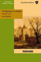 The Mysteries of Udolpho: A Romance: Easyread Edition