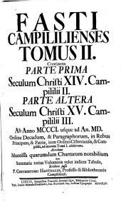 Fasti Campililienses