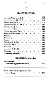 Complectens excerpta ex variis poetis