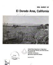 Soil survey of El Dorado area, California