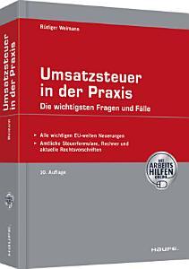 Umsatzsteuer in der Praxis   mit Arbeitshilfen online PDF