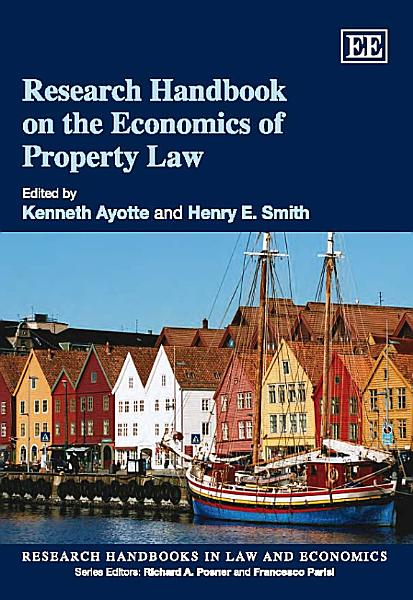Download Research Handbook on the Economics of Property Law Book