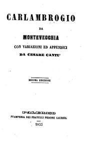 Carlambrogio da Montevecchia