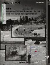 Pinedale Resource Management Plan: Environmental Impact Statement, Volume 2
